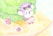 にじをかける結月ゆかりPart2【星のカービィ2】支援絵