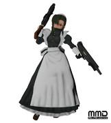 【MMDブラック・ラグーン】ファビオラ