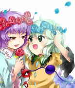 お花のかんむり