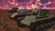 【MMDモデル配布】KV-1重戦車