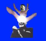 胴上げされるヒットラー