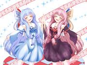 【支援絵】歌う琴葉姉妹