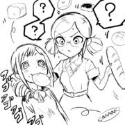 風紀委員荷物チェック無限パン(大原みちる/冴島清美)