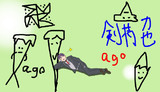 【にじさんじ】力也でアイドルステップ【手描きトレス】
