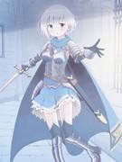 剣士の女の子。