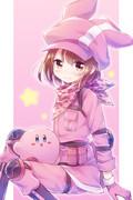 ピンクの悪魔コンビ