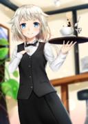 カフェ店員OИEちゃん