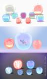【MMD】ガラスのリンゴ【アクセサリ配布】