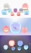【MMD】ガラスのリンゴセット【アクセサリ配布】