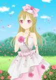 薔薇園の少女