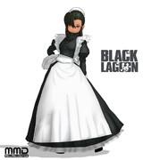 【MMDブラック・ラグーン】ファビオラ【モデル配布】