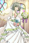 ウェディングドレス楓