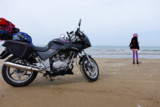MMDを実写になじませるための練習1 「千里浜なぎさドライブウェイ」