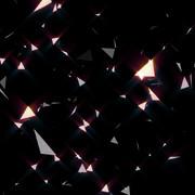 動画素材(舞い散る破片)