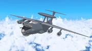 A-50U早期警戒機【MMDモデル配布】