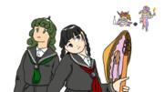 高麗野さんと矢田寺さん