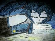 Miku-Chan Taking Nap From Midnight Sleepy Head