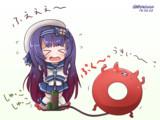 死斗!松輪VS浮き輪!!