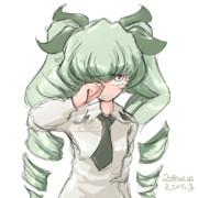 アンチョビ、泣いてない!