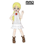 【MMDメイドインアビス】リコ制服ver【コミュ配布】