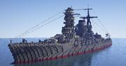 長門型戦艦2番艦「陸奥」