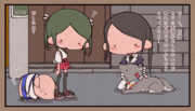 散歩友達相手に身の危険を感じる加賀さん