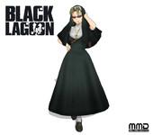 【MMDブラック・ラグーン】シスターエダ【モデル配布】