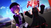 【MMD】テトとウタ