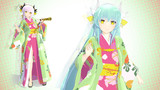 【MMD】清姫(下総国 )【モデル配布】