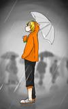 梅雨嫌い…… #コンパスエンジョイ部