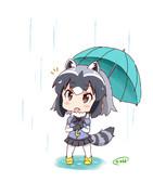 雨が降ってきたのだ