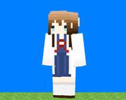 【Minecraft】しょうこセンセイ!なスキン