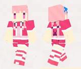 【minecraft】ハナモモ(花騎士) スキン(サンプル)