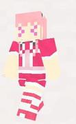 【minecraft】ハナモモ(花騎士) スキン(サンプル)おまけ