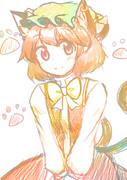 最近書いた橙ちゃん
