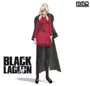 【MMDブラック・ラグーン】バラライカ【モデル配布】