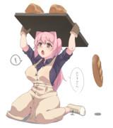 パンを焼いたみとんちゃん(オリキャラ名)