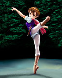 冒険少女の踊り