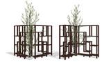 【アクセサリ配布】木と棚