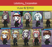 LobotomyCorporation Vtuber髪型MOD