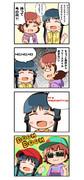 ぷっぷかプリン4コマ