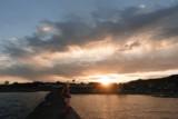 MMDを実写になじませるための練習3 「千葉県舘山市 波止場からの朝日」