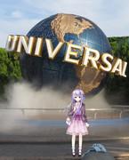 USJ with 弥生ちゃん