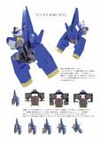AGE-3コアファイターの変形シーケンスについて