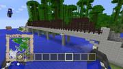 村山橋をマイクラで作ったぉ