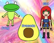 FAG (Frog, Avocado, Girl)