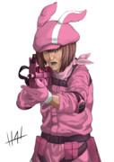 ピンクの悪魔と化した虐待おじさん