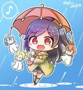 梅雨入り萩風さん♪