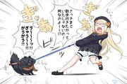 アビゲイルちゃん VS 犬の散歩 (始末犬)