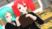 チョコ食え?